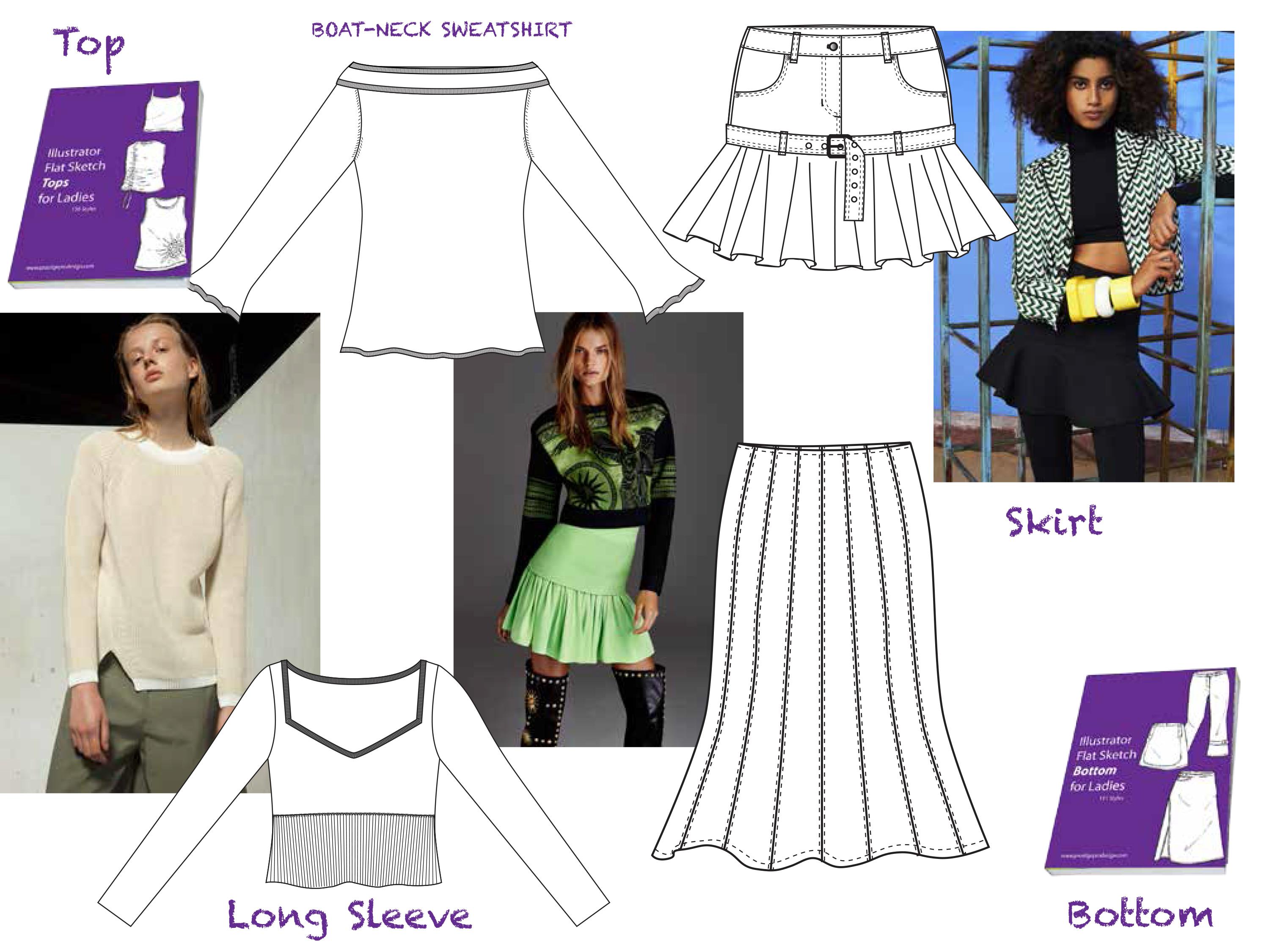 Free Fashion Design Templates Tutorials: Industry Essentials 34