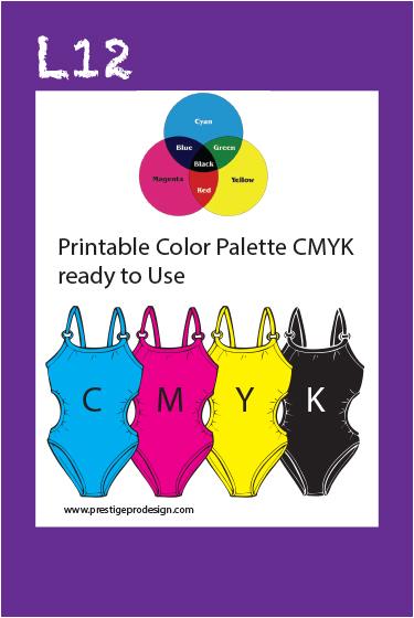 Paint Shop Pro  Cmyk Color Palette