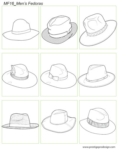 MF16_Men's Fedoras