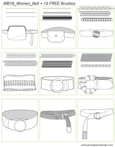 WB16_Women_Belt