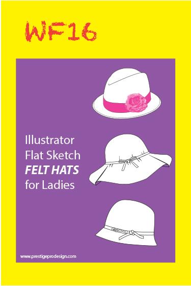 c783cbd5494 Flat Fashion Sketches